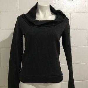 Dark Grey Scoopneck Sweater